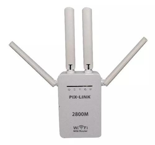 Repetidor wifi 2800m 4 antenas amplificador de sinal