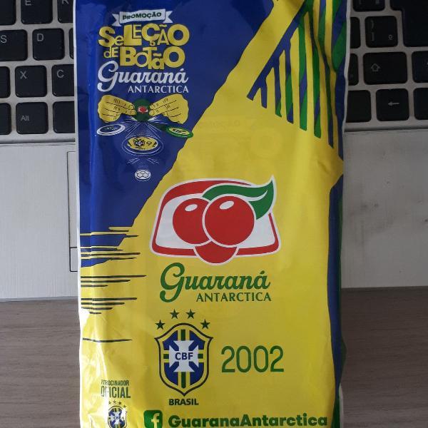 Seleção brasileira de futebol botão de 2002 - guaraná