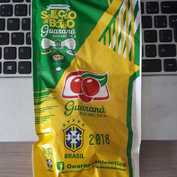 Seleção brasileira de futebol botão de 2018 - guaraná