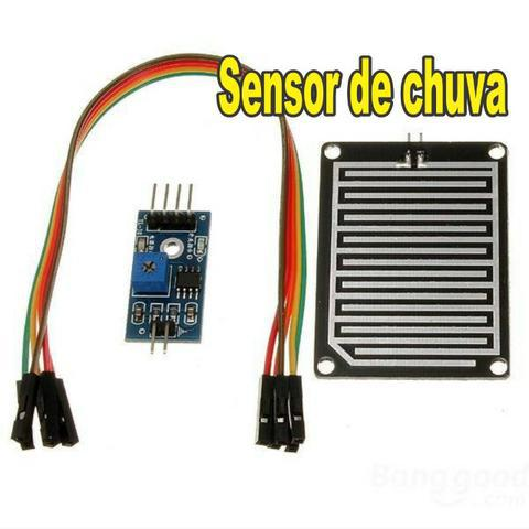 Sensor detector de chuva arduino