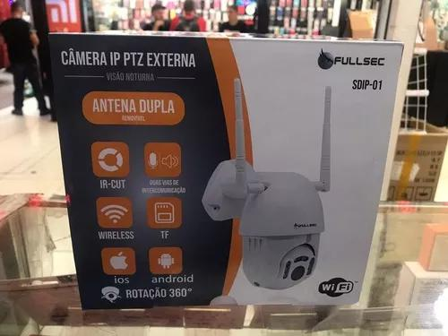 Speed dome camera ip fullhd 1080p externo dia/noite onvif