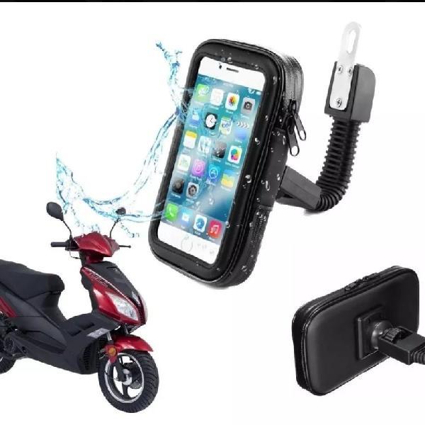 "Suporte de celular/gps universal a prova d'água 4.7"""