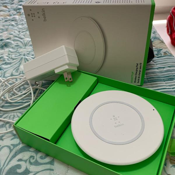 Carregador wireless belkin boost up original