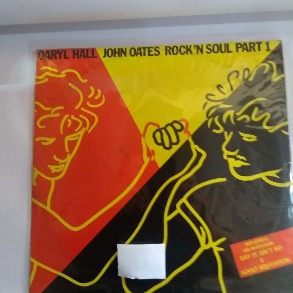 Disco de vinil john oates, lp rock in soul parte 1