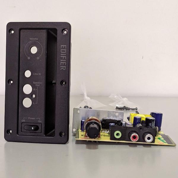 Kit peças originais p/substituição p/caixa som edifier