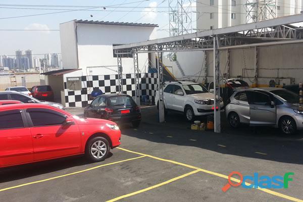 Lava rápido ecológico e estacionamento em santo andré   bairro nobre.