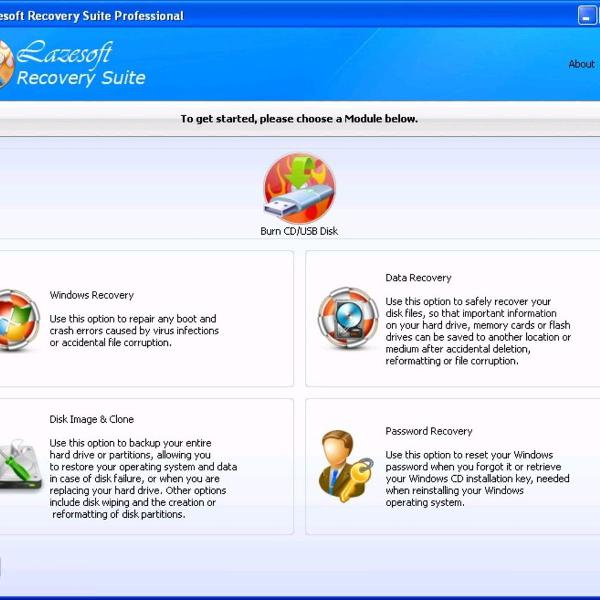 Lazesoft recovery suite 4.3.1 completo