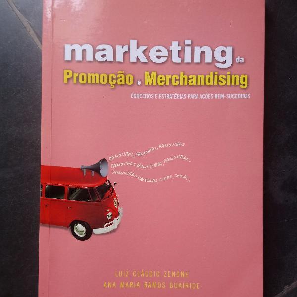 Livro marketing da promoção e merchandising