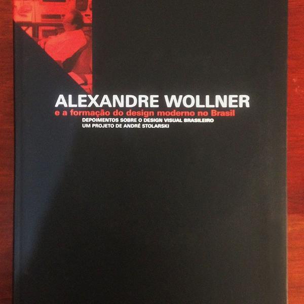 Livro: alexandre wolner e a formação do design moderno no