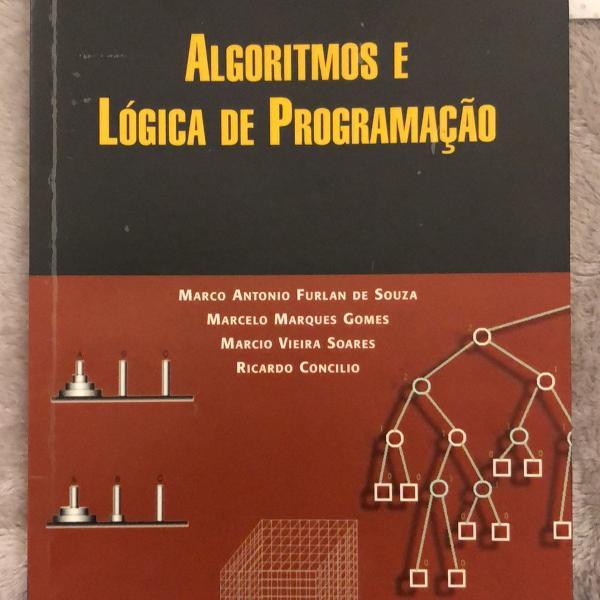 Livro algoritmos e lógica de programação