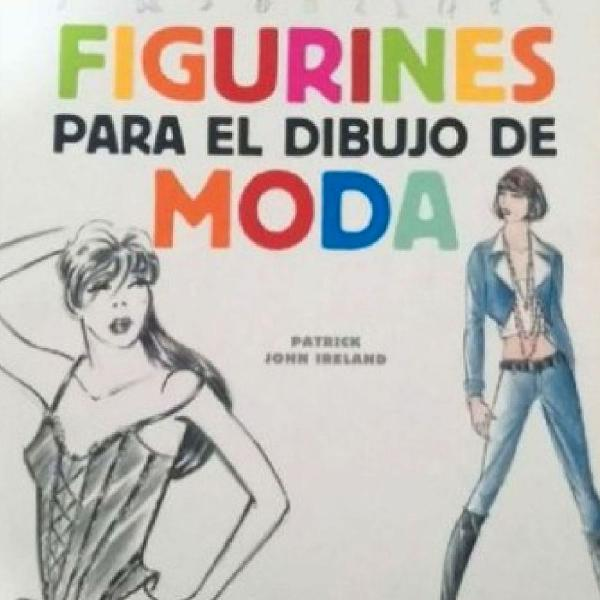 Livro figurines para el dibujo de moda