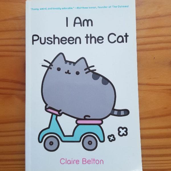 Livro i am pusheen infantil/adulto