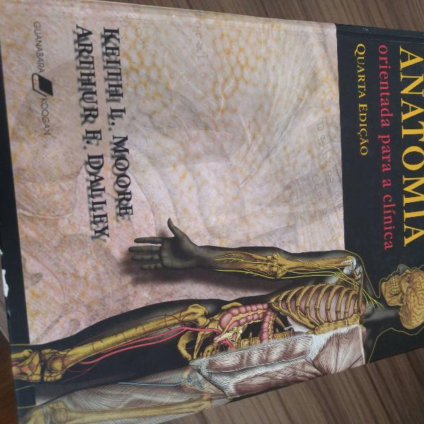 Livro medicina anatomia moore