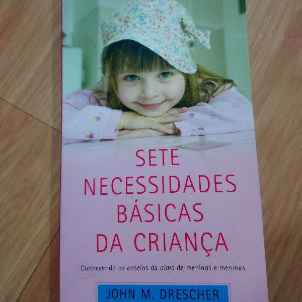 Livro sete necessidades básicas da criança desengaveta