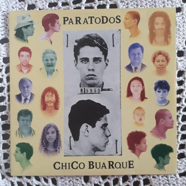 Lp vinil - chico buarque - paratodos 1993