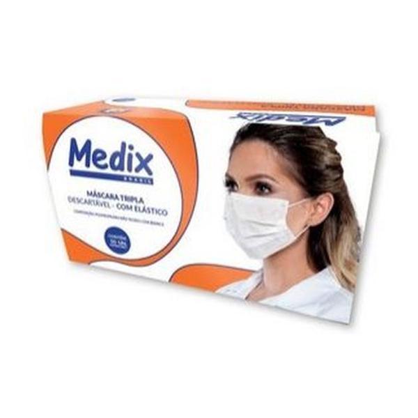 Máscara descartável tripla. proteção moderada contra o