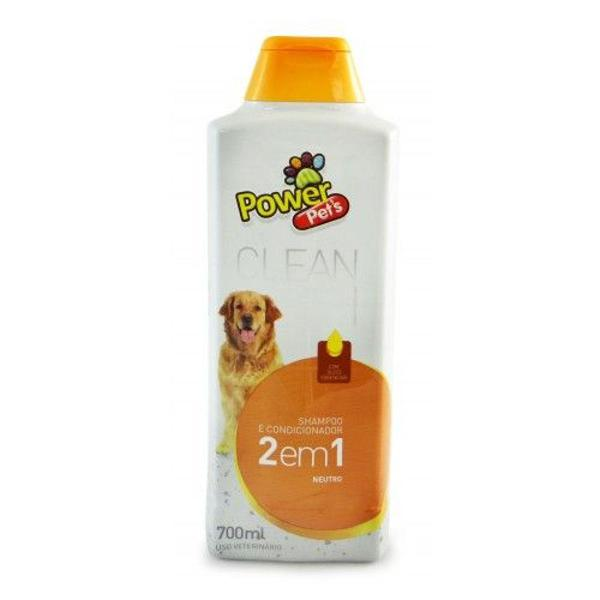 Shampoo para cães neutro power pets 700 ml