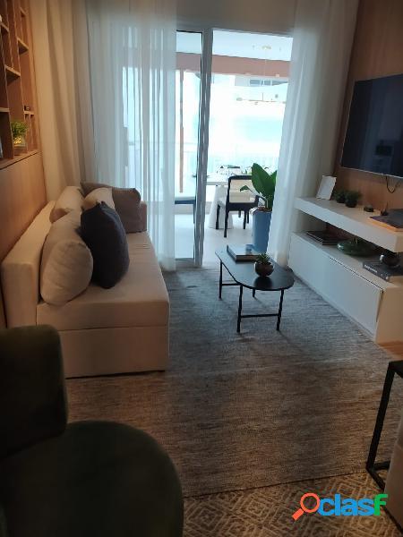 Apartamento para venda possui 79m² com 3 quartos e 2 vagas na lapa