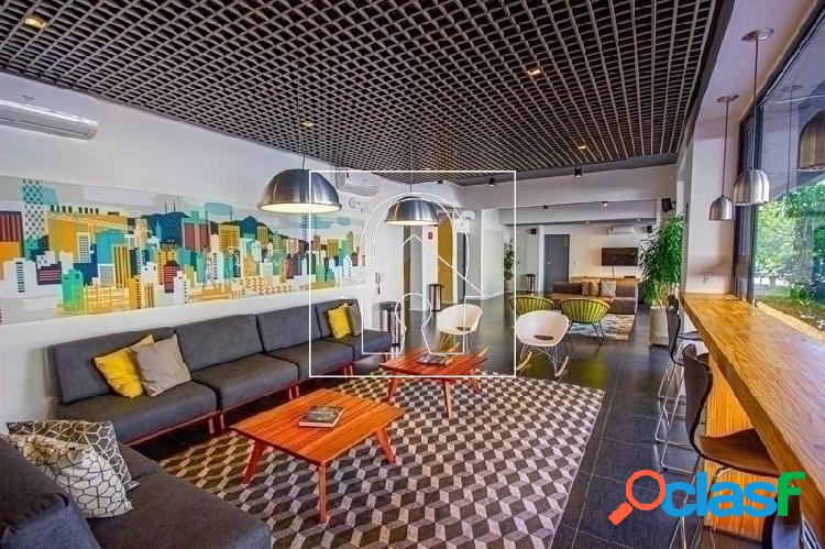 Stúdio para locação mobiliado com 20m² no centro