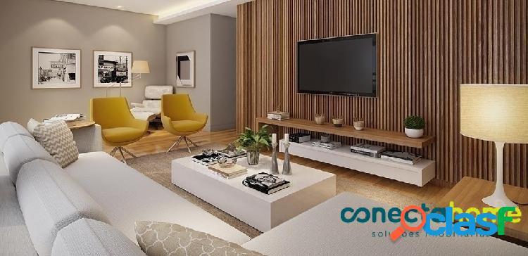 Apartamento de 119 m², 3 suítes e 3 vagas no alto de pinheiros