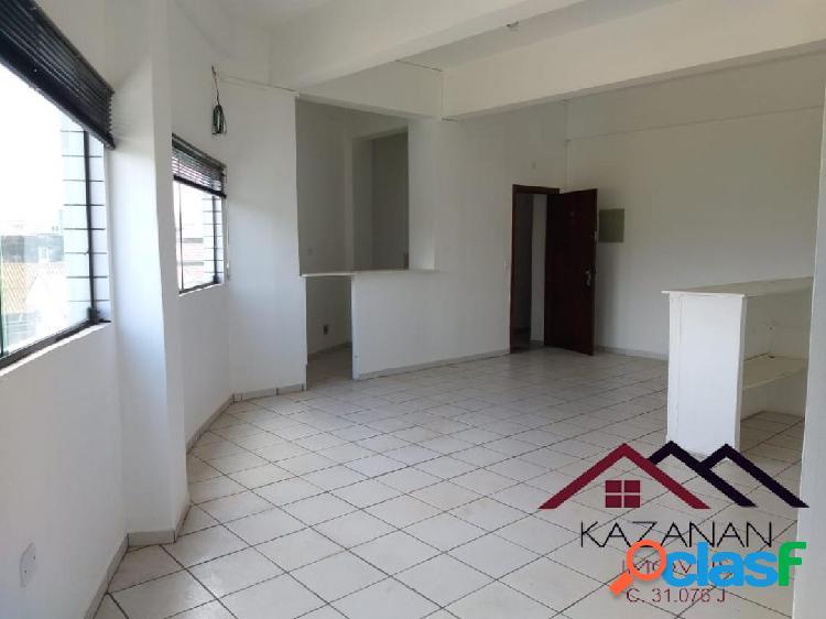 Apartamento sala living dividida em quarto e sala vila mathias santos sp