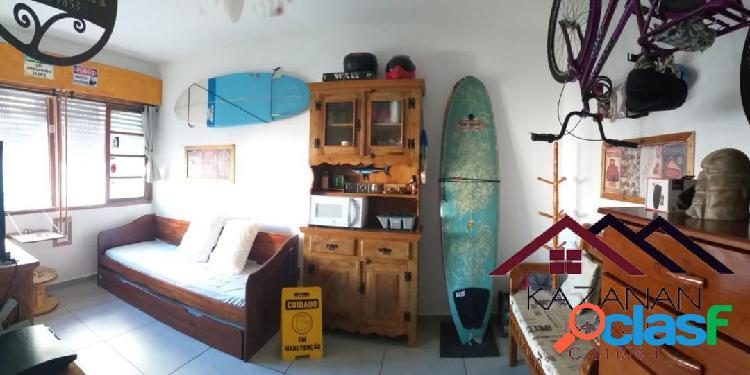 Temporada apartamento mobiliado porteira fechada praia do embaré santos sp