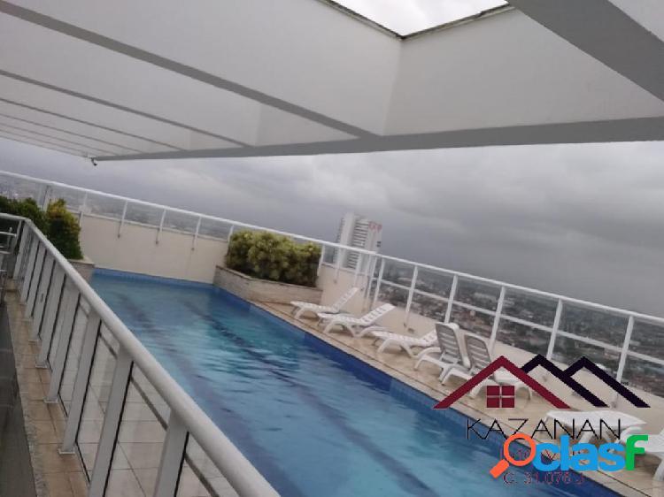 Vila de são vicente 3 dormitórios 1 suite lazer praia do gonzaguinha sp