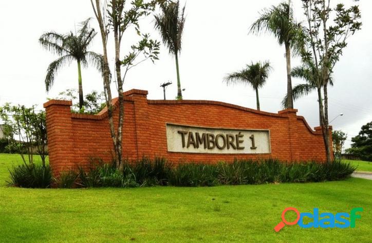 Terreno à venda no residencial tamboré 1 - 2735m² - confira