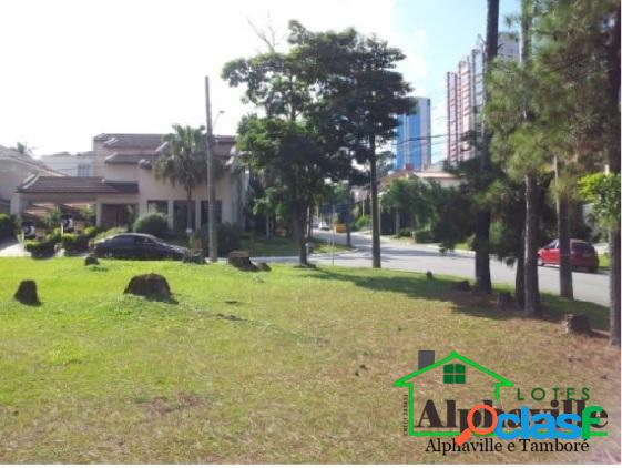 Lindo terreno de esquina 600 m2 - residencial alphaville 2 (alpha 2)