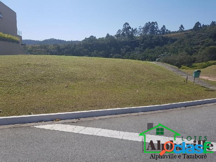 Terreno com 620m² e vista permanente: campos do conde