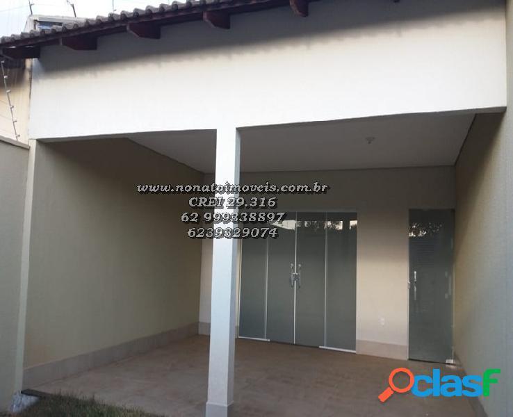 Oportunidade casa nova no residencial três marias r$ 240.000,00