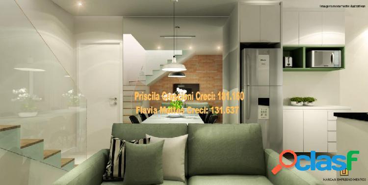 Apartamento residencial muskat - vila alto - santo andré - em construção
