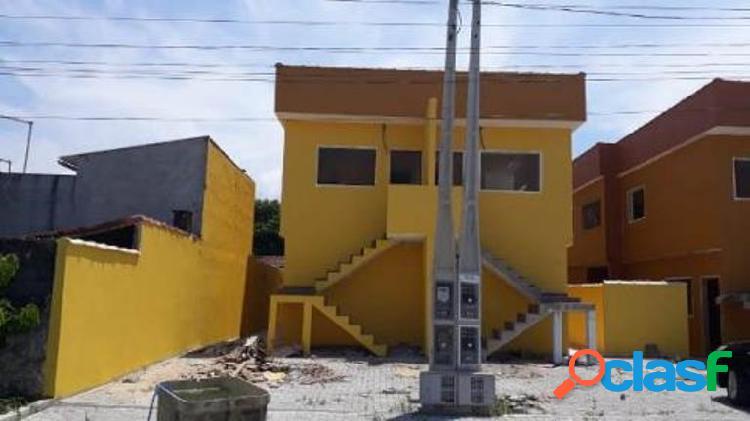 Casa sobreposta nova libera financiamento bancário em itanhaém