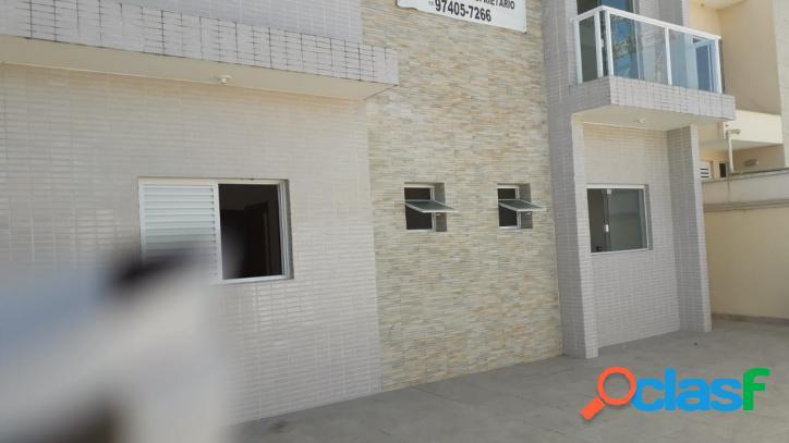 Casa sobreposta (terreo), nova proximo ao centro de itanhaém s/p