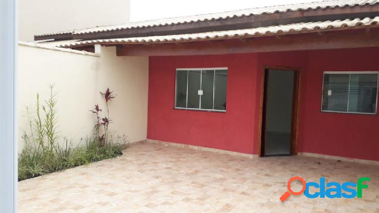 Casa nova ótima localização 400m da praia itanhaém s/p !