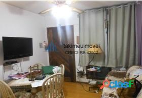 Apartamento com 2 dormitórios à venda, 50 m² por r$ 125.000 rubem berta - porto alegre/rs