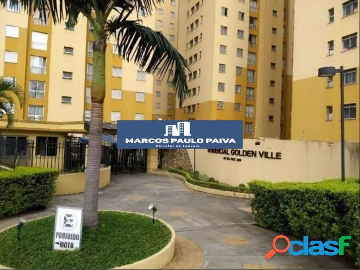 Apartamento em guarulhos no golden ville com 53 m² 2 dorms 1 banheiro 1 vaga no jardim são judas tadeu
