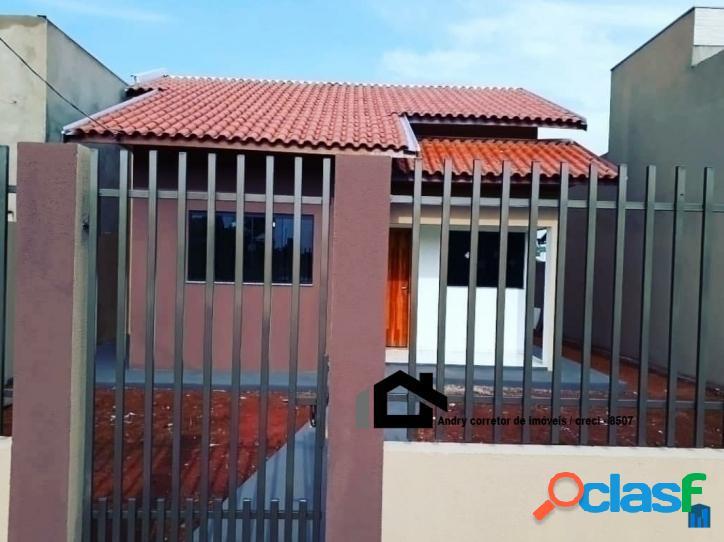 Vende se essa linda casa - casa com 60m2 - valor: 175.000,00 em tangará