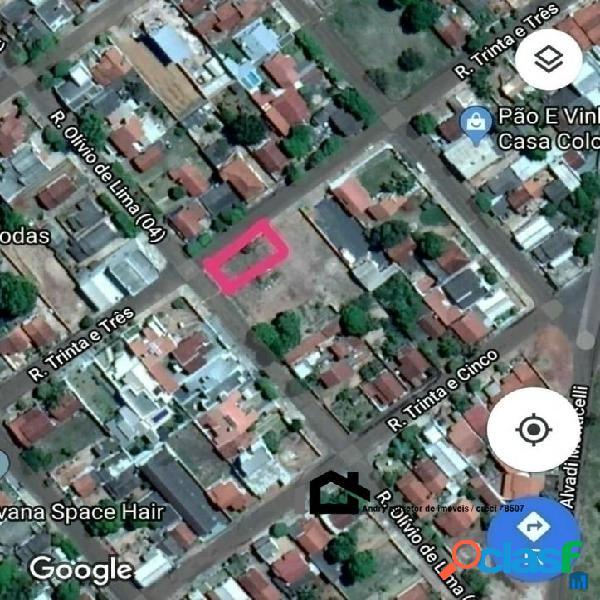Vendo terreno de esquina em tangará da serra- mt- 4 min do centro da cidade
