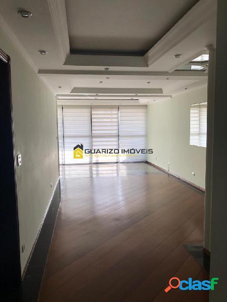 Apartamento à venda e locação 3 suítes, 2 vagas - centro sbc/sp
