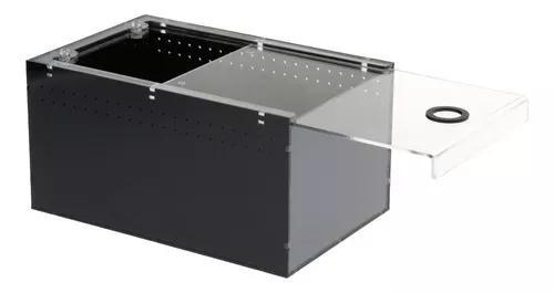 Acrílico transparente pet répteis caixa reprodução tanqu