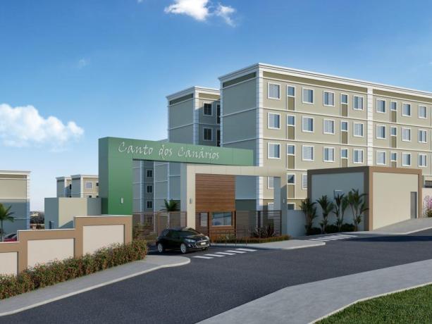 Apartamento novo com 2 dormitórios em localização