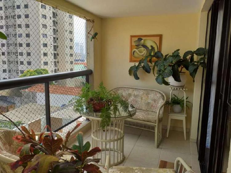 Apartamento a venda 117m², 3 dorms (2 suítes) rua carlos