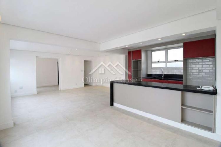 Apartamento para locação com 140m² - cerqueira césar, sp
