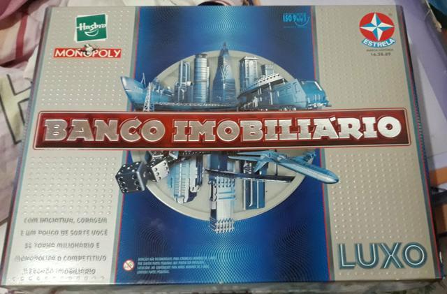 Banco imobiliário luxo