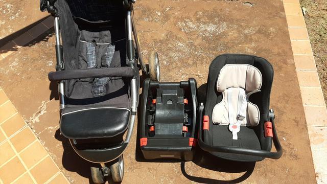 Bebê conforto burigoto / base burigoto / carrinho bebê 3