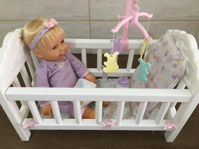 Boneca miracle baby completa