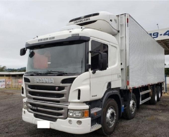 Caminhão p.310 baú niju refrigerado 8 50m 2014