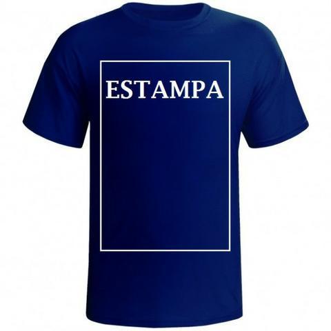 Camisetas com estampas personalizadas
