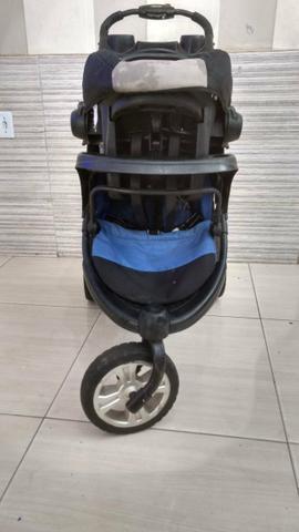 Carrinho de bebê lenox 11 race sportline com bebê conforto